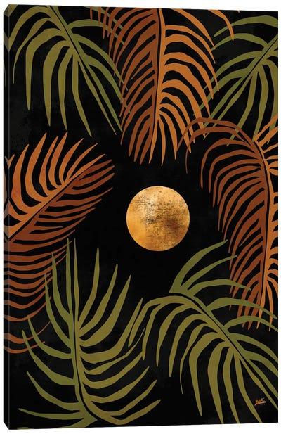 Tropical Night Canvas Art Print
