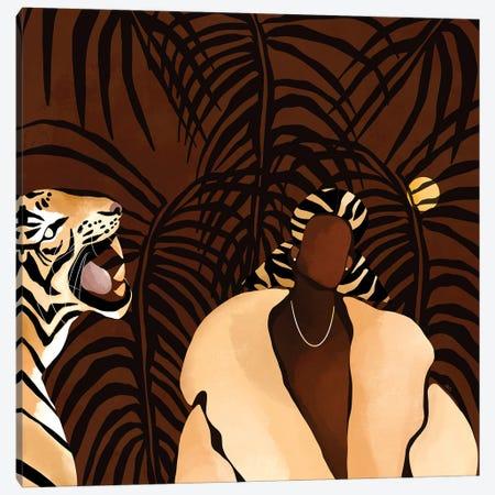 In the Wild (brown) Canvas Print #BNC126} by Bria Nicole Canvas Art Print