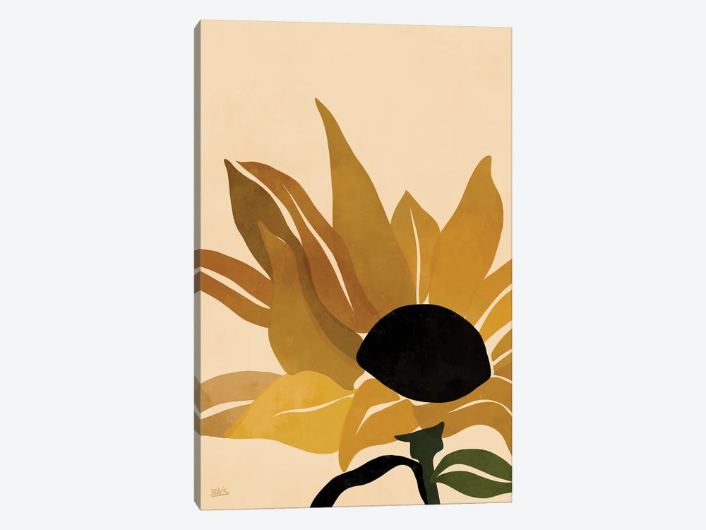 Sunflower by Bria Nicole 1-piece Canvas Wall Art
