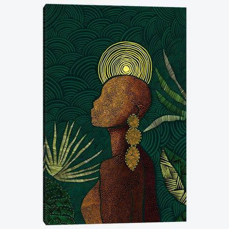 Vea (Teal) Canvas Print #BNC132} by Bria Nicole Canvas Print