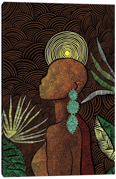 Vea (Brown) Canvas Art Print
