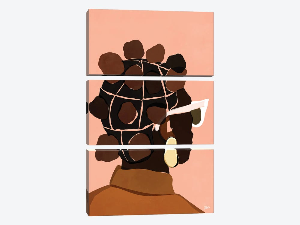 Ebony by Bria Nicole 3-piece Canvas Art Print