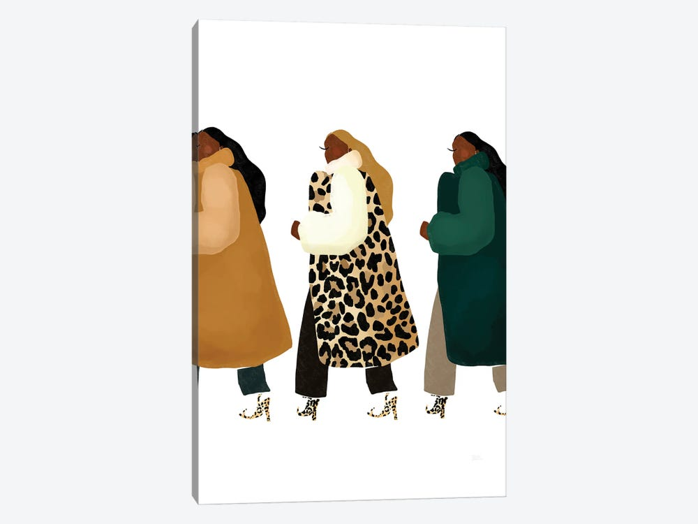 Material Girls by Bria Nicole 1-piece Canvas Artwork