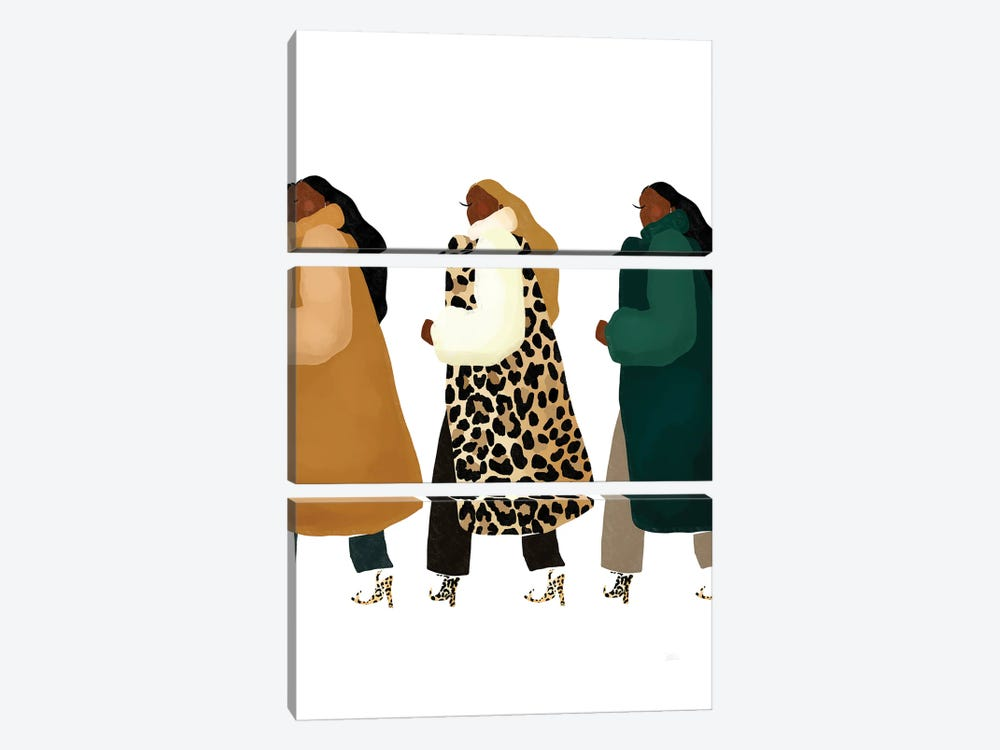 Material Girls by Bria Nicole 3-piece Canvas Art