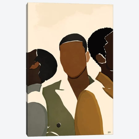 Brothers Canvas Print #BNC14} by Bria Nicole Canvas Print