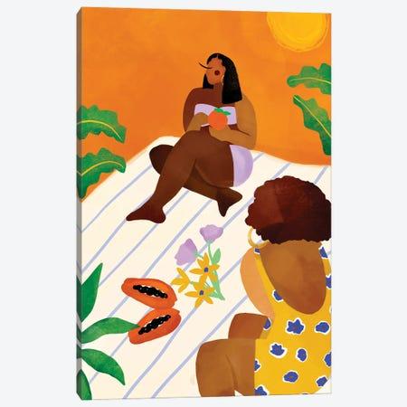 Waiting For Summer. Canvas Print #BNC152} by Bria Nicole Canvas Art Print