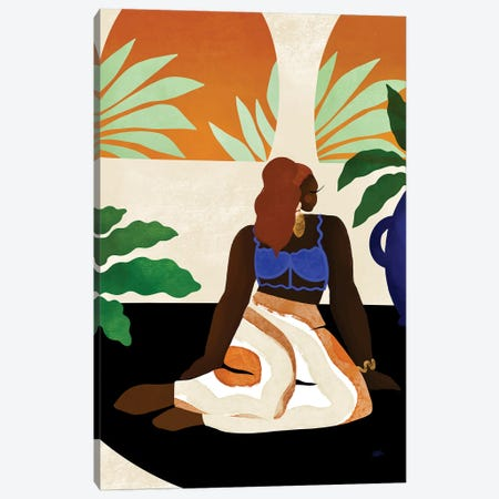 Lazy Sunday Canvas Print #BNC153} by Bria Nicole Canvas Print