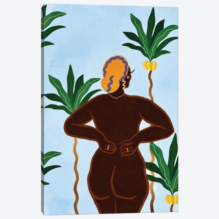 Island Girl Canvas Print #BNC154} by Bria Nicole Canvas Art
