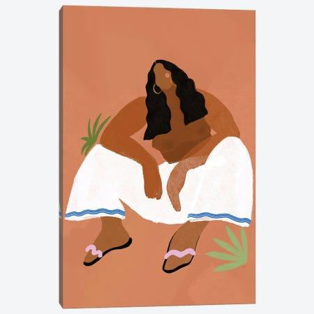 Desert Girl Canvas Print #BNC155} by Bria Nicole Canvas Artwork