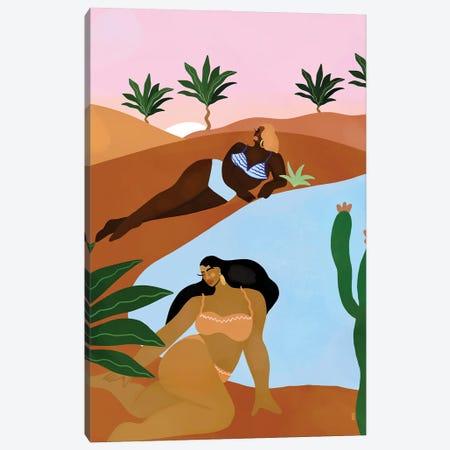 Desert Dreaming Canvas Print #BNC156} by Bria Nicole Canvas Wall Art