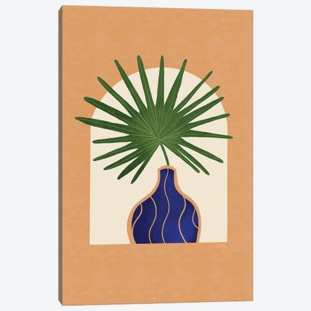 Fan Palm I Canvas Print #BNC158} by Bria Nicole Art Print