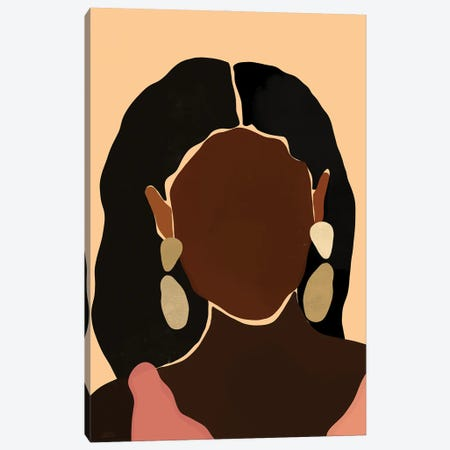 Monae Canvas Print #BNC15} by Bria Nicole Art Print