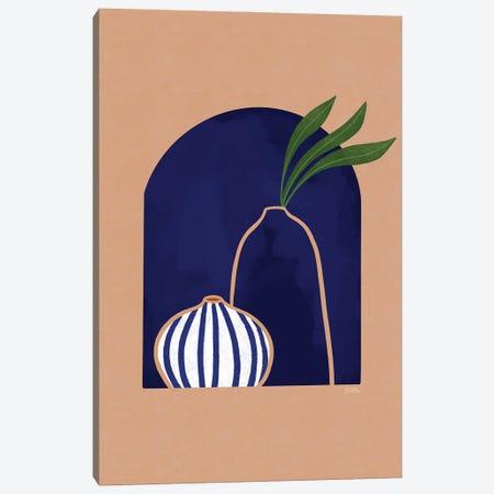 Blue Ceramics Canvas Print #BNC160} by Bria Nicole Canvas Art