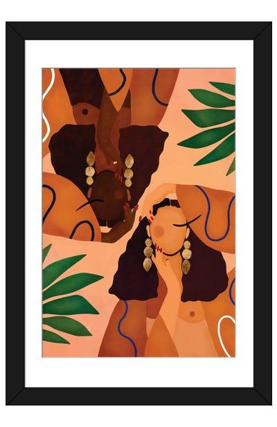 Jungle Girls Framed Art Print