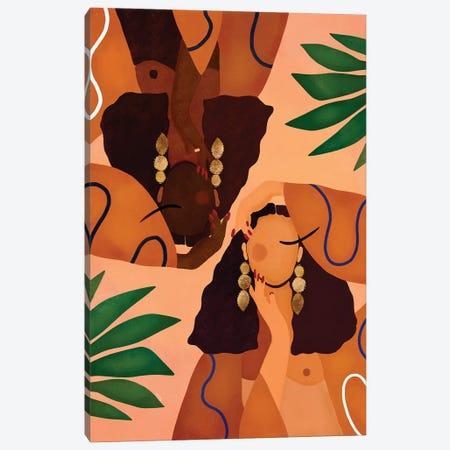 Jungle Girls Canvas Print #BNC164} by Bria Nicole Art Print