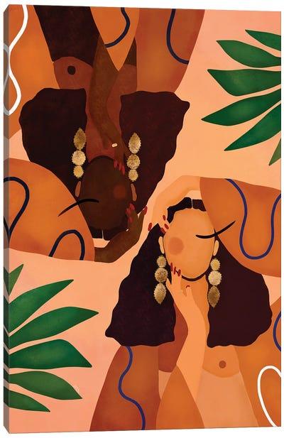 Jungle Girls Canvas Art Print