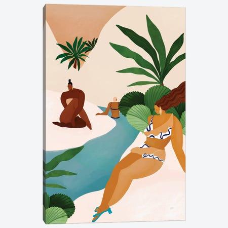 Desert Oasis Canvas Print #BNC165} by Bria Nicole Art Print