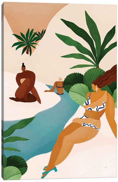 Desert Oasis Canvas Art Print