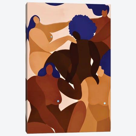 Women Supporting Canvas Print #BNC166} by Bria Nicole Art Print