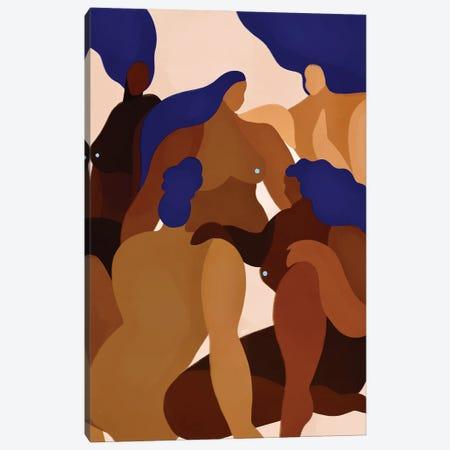 Lean On Eachother Canvas Print #BNC167} by Bria Nicole Canvas Print