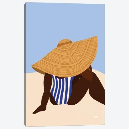 Sunhat III Canvas Print #BNC170} by Bria Nicole Canvas Art Print