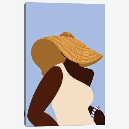 Sunhat III Canvas Print #BNC171} by Bria Nicole Canvas Print