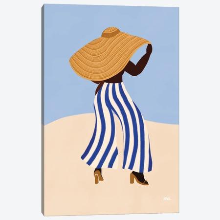 Sunhat III Canvas Print #BNC172} by Bria Nicole Art Print