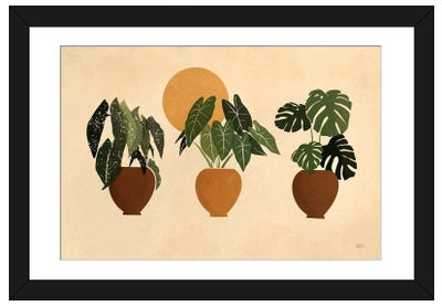 Houseplants II Framed Art Print