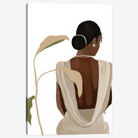 Nora Canvas Print #BNC23} by Bria Nicole Art Print