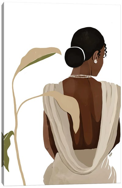 Nora Canvas Art Print