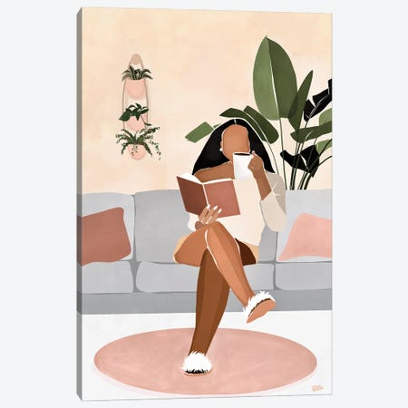 Lounge Canvas Print #BNC28} by Bria Nicole Art Print