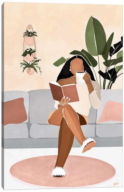 Lounge Canvas Art Print