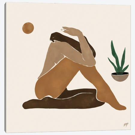 Figure I Canvas Print #BNC33} by Bria Nicole Canvas Art