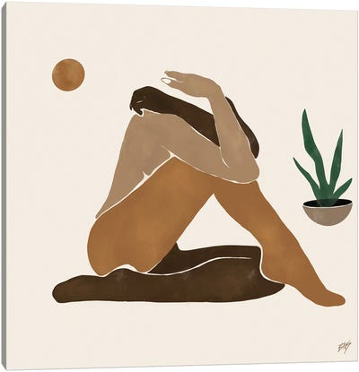Figure I Canvas Art Print