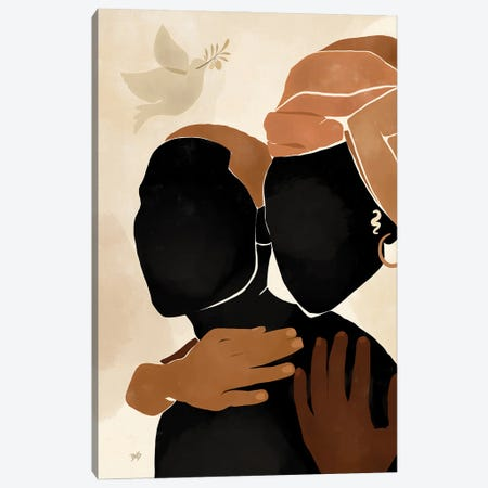Protect Canvas Print #BNC34} by Bria Nicole Art Print