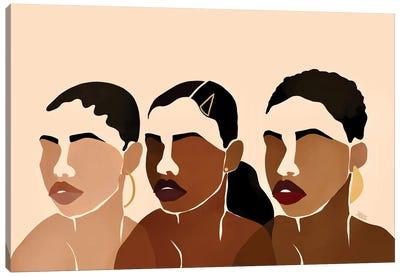 Sisters I Canvas Art Print