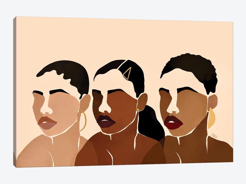 Sisters I by Bria Nicole 1-piece Canvas Artwork