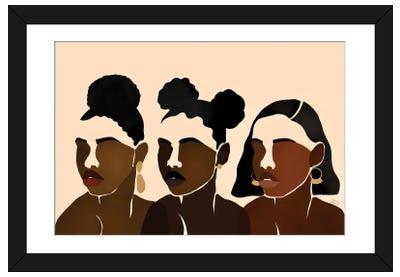 Sisters II Framed Art Print