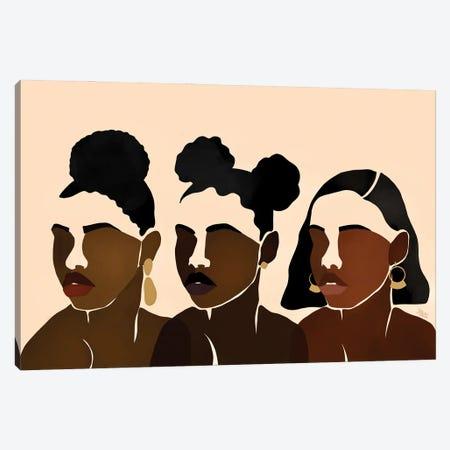 Sisters II Canvas Print #BNC39} by Bria Nicole Canvas Wall Art