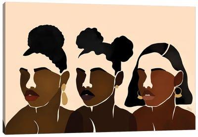 Sisters II Canvas Art Print