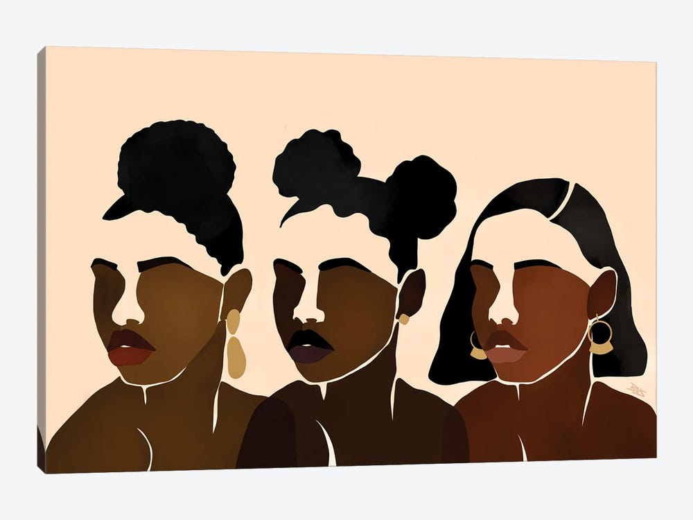 Sisters II by Bria Nicole 1-piece Art Print