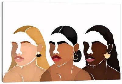 Sisters III Canvas Art Print