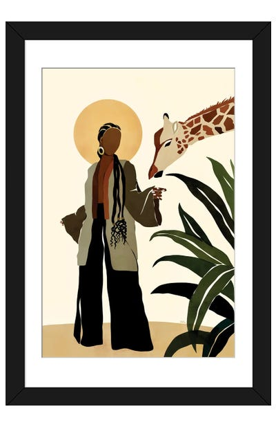 Ari Framed Art Print