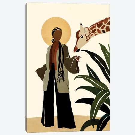 Ari Canvas Print #BNC42} by Bria Nicole Canvas Print
