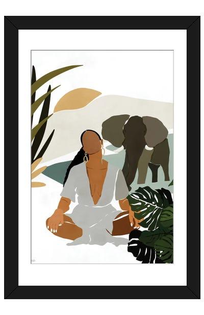 Rayne Framed Art Print