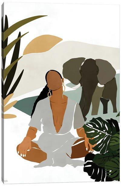 Rayne Canvas Art Print