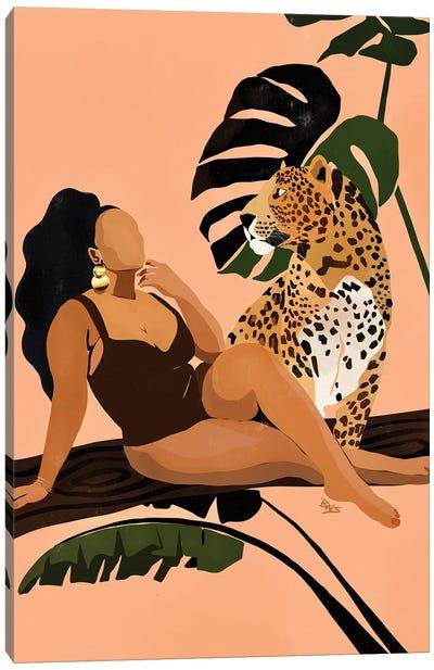 Tika Canvas Art Print