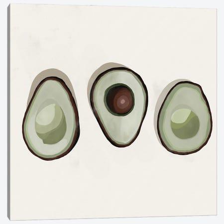 Avocados Canvas Print #BNC47} by Bria Nicole Canvas Art