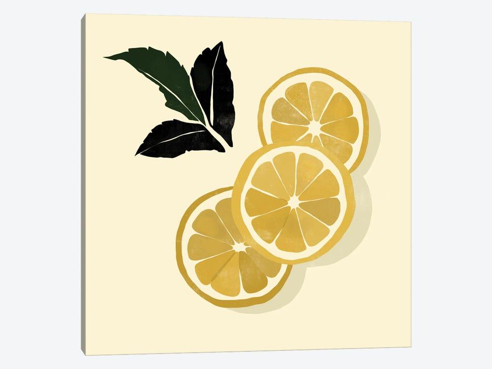 Lemons by Bria Nicole 1-piece Canvas Art