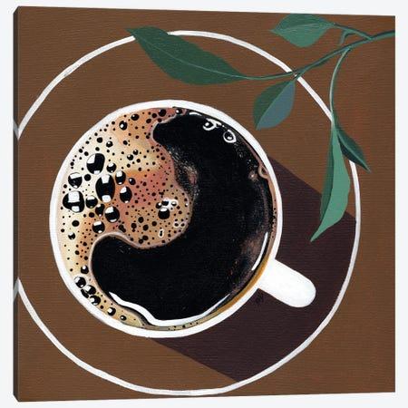 Coffee Canvas Print #BNC53} by Bria Nicole Canvas Artwork